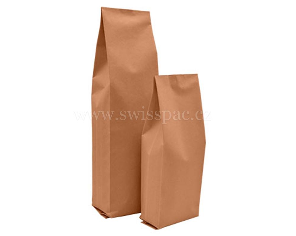 hnědý papírový sáček