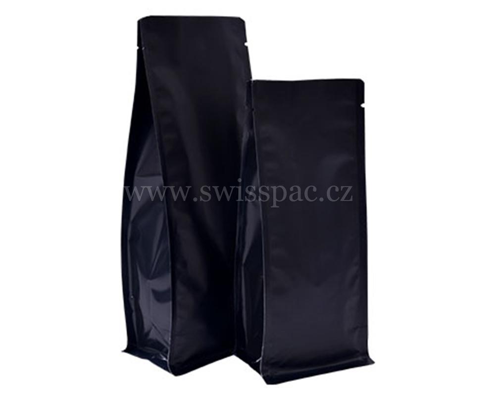 Matné černé tašky bez zipu