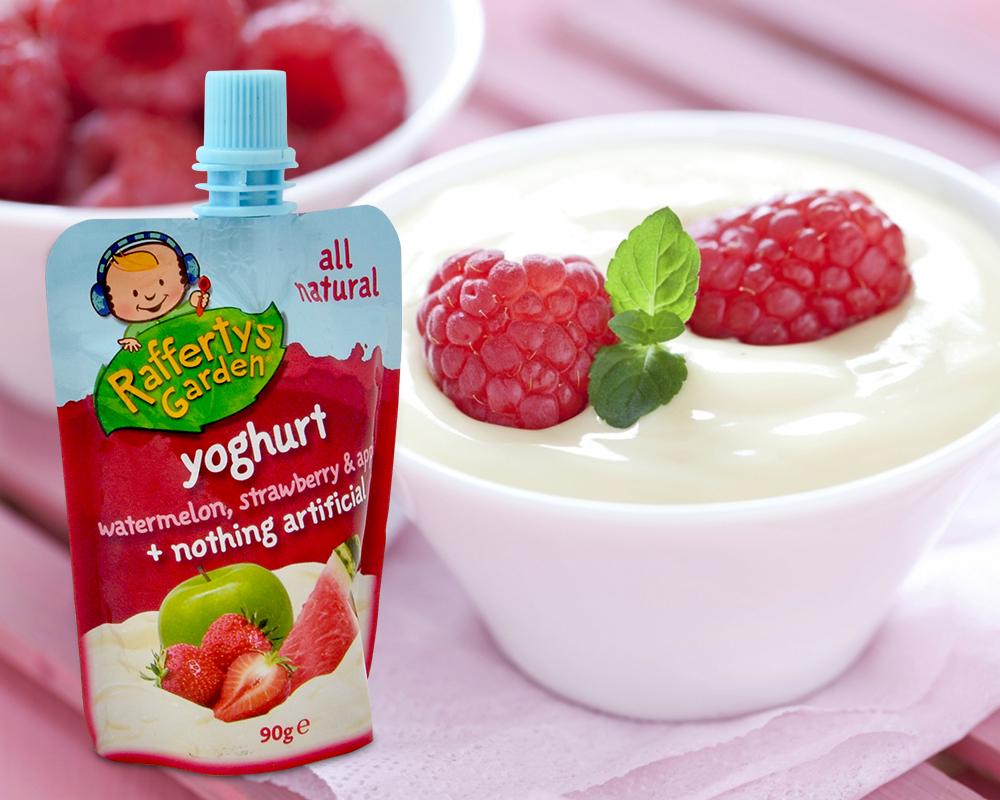 balení jogurtu